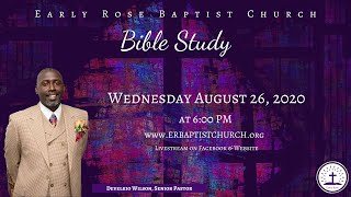 Bible Study- August 26, 2020