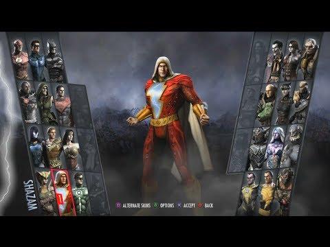 Injustice: Gods Among Us Arcade #20- Shazam