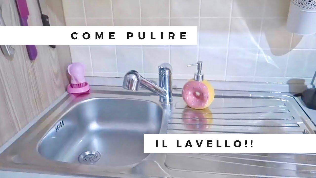 Come Pulire Il Lavabo In Resina come pulire il lavello in acciaio!!