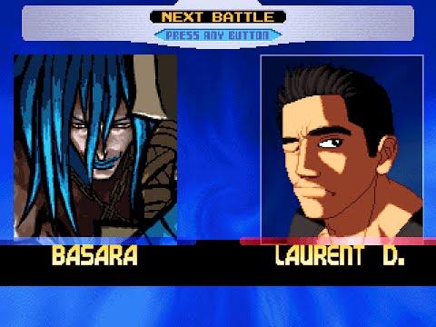 MUGEN: BasaraMe vs Laurent DemianoffAI