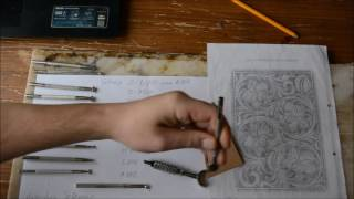 Уроки работы с кожей. Подбор инструмента для Sherydan Style Carving  www.muzylevstyle.ru