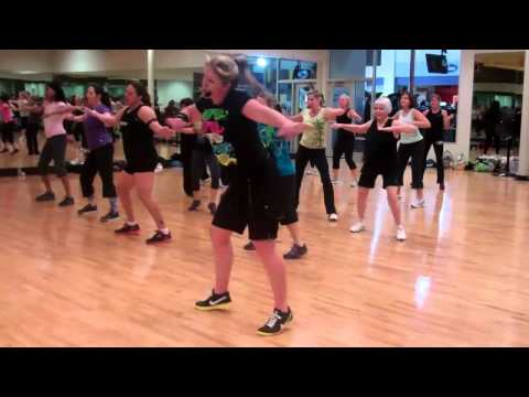 Zumba Party Rock Anthem Lmfao Funnycat Tv