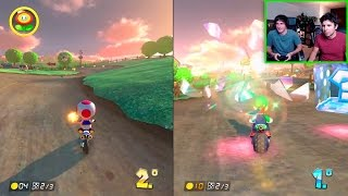 MARIO KART 8: LUZU VS WILLYREX | SUPER-SETA
