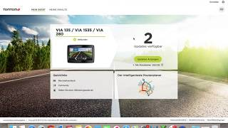 TOMTOM VIA 135 1535 280 Update TomTom Tool How to Update