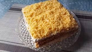 """""""Торт-салат из крекеров"""""""
