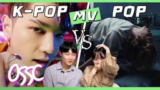 Koreans React To POP VS K-POP [MV]   ????????????????