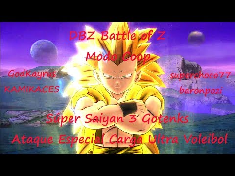 DBZ - Battle of Z - Modo Coop. - Súper Saiyan 3 Gotenks - Ataque Especial Carga Ultra Voleibol Videos De Viajes
