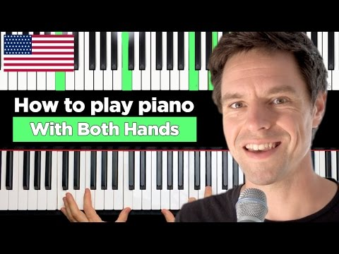 How to PLAY PIANO with BOTH HANDS at the same time