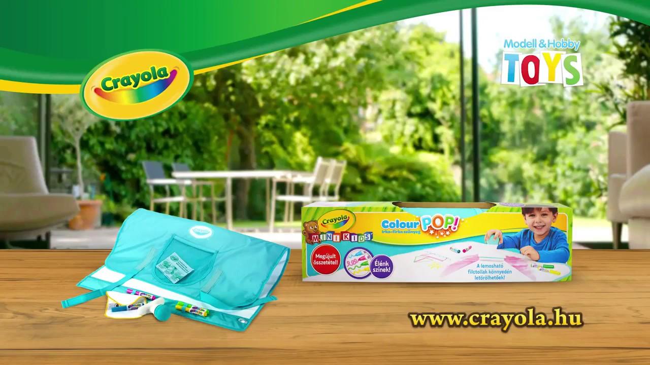 Crayola: Colour POP! irka-firka szőnyeg filctollakkal ...