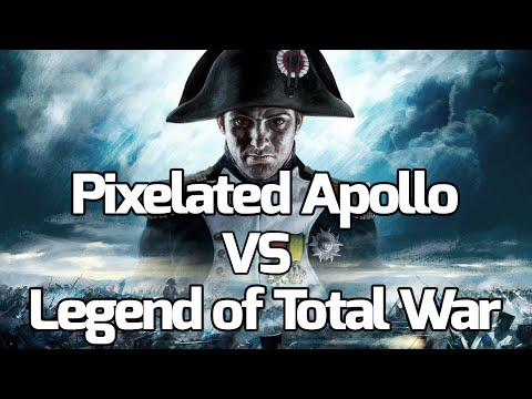 Legend Of Total War VS Pixelated Apollo (Napoleon Total War Online Battles)
