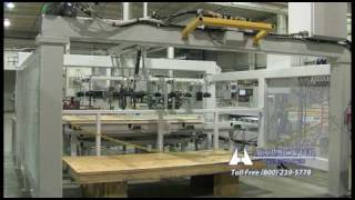 Accu-router Cnc Conveyor For Plywood Reels (jan-2010)