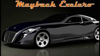 Видео обзор автомобиля Maybach Exelero со всех сторон
