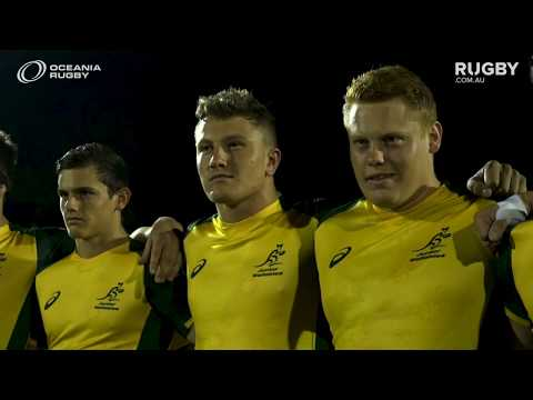2019  Oceania U20s: Junior Wallabies vs New Zealand
