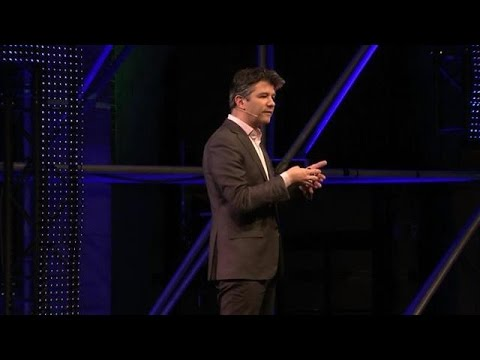 Travis Kalanick, Uber, speaking at Startup Fest Europe [24.05.16]