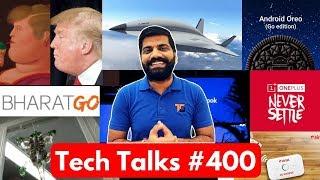 Tech Talks 400 - Micromax Bharat Go Aadhaar Face ID Vivo E-Store Hypersonic Plane Dingtalk