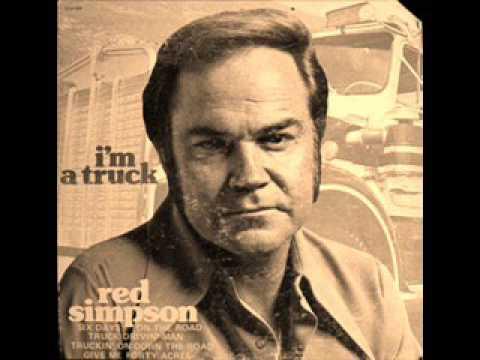 RED SIMPSON - TRUCK DRIVIN' MAN 1977