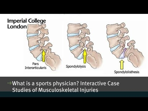 what is a sports physician? interactive case studies of musc
