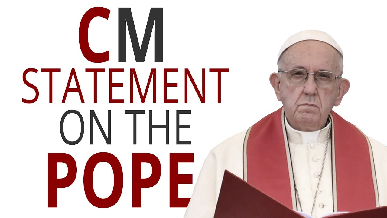 Church Militant Statement on the Pope