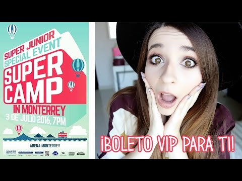 ¡Gana un boleto VIP para Super Junior! ✦ Concurso  | Cecie