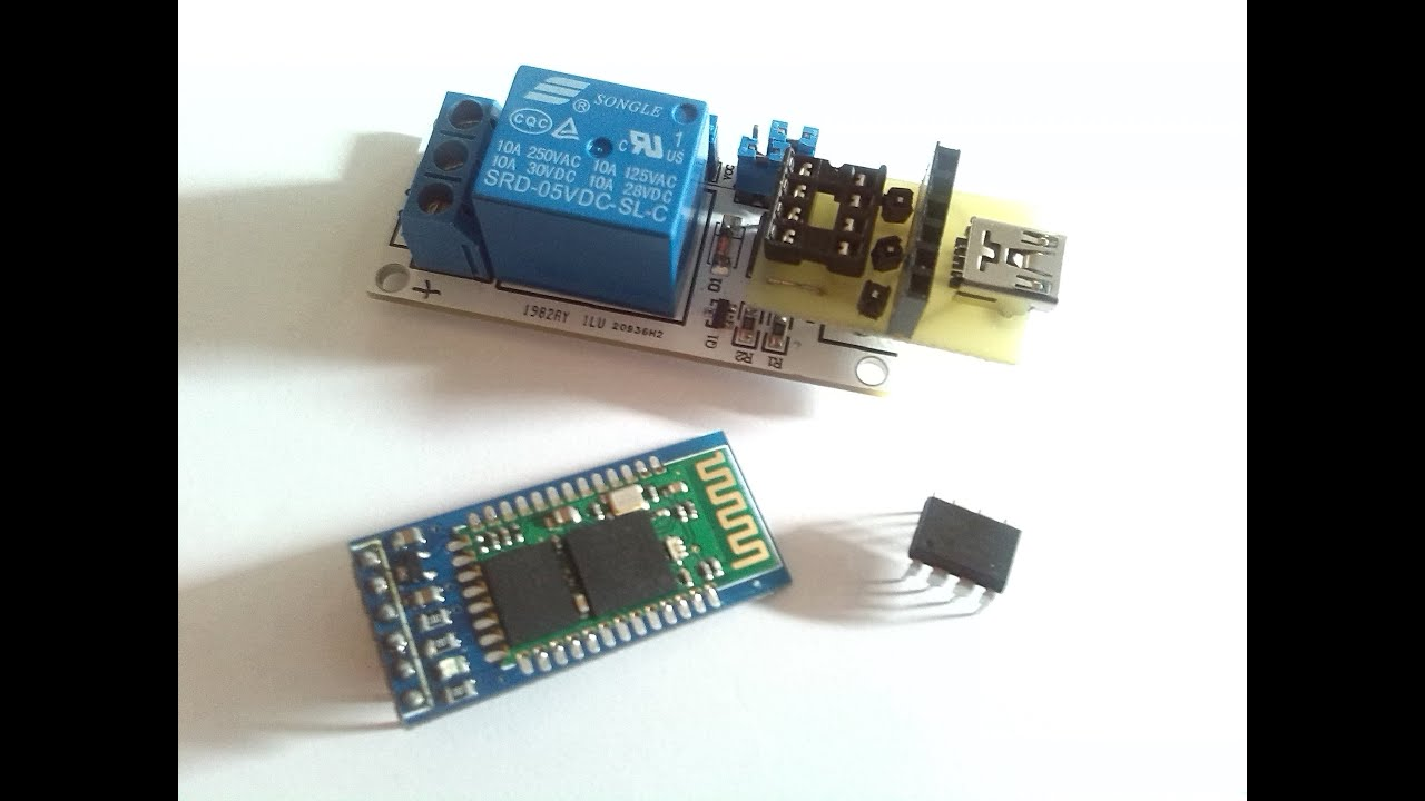 Arduino relay module bluetooth upgrade for android control