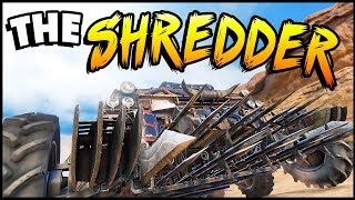 Crossout - THE SHREDDER! Epic Builds That Keep Getting Better  (Crossout Gameplay)