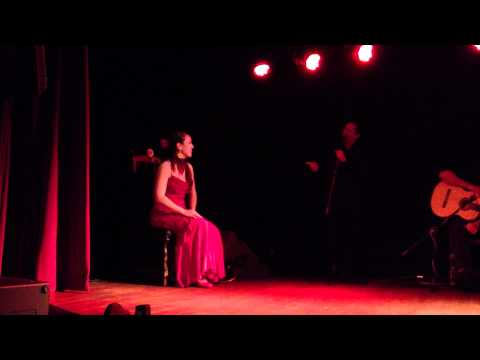 INTRODUCING FLAMENCO DANCERS AT EL CID DINNER DANCE SHOW AT SUNSET HOLLYWOOD
