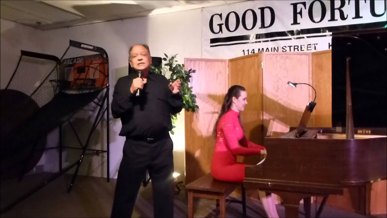 Cheech Marin and wife Natasha @ Good Fortune- Keene,NH 6/8/2013