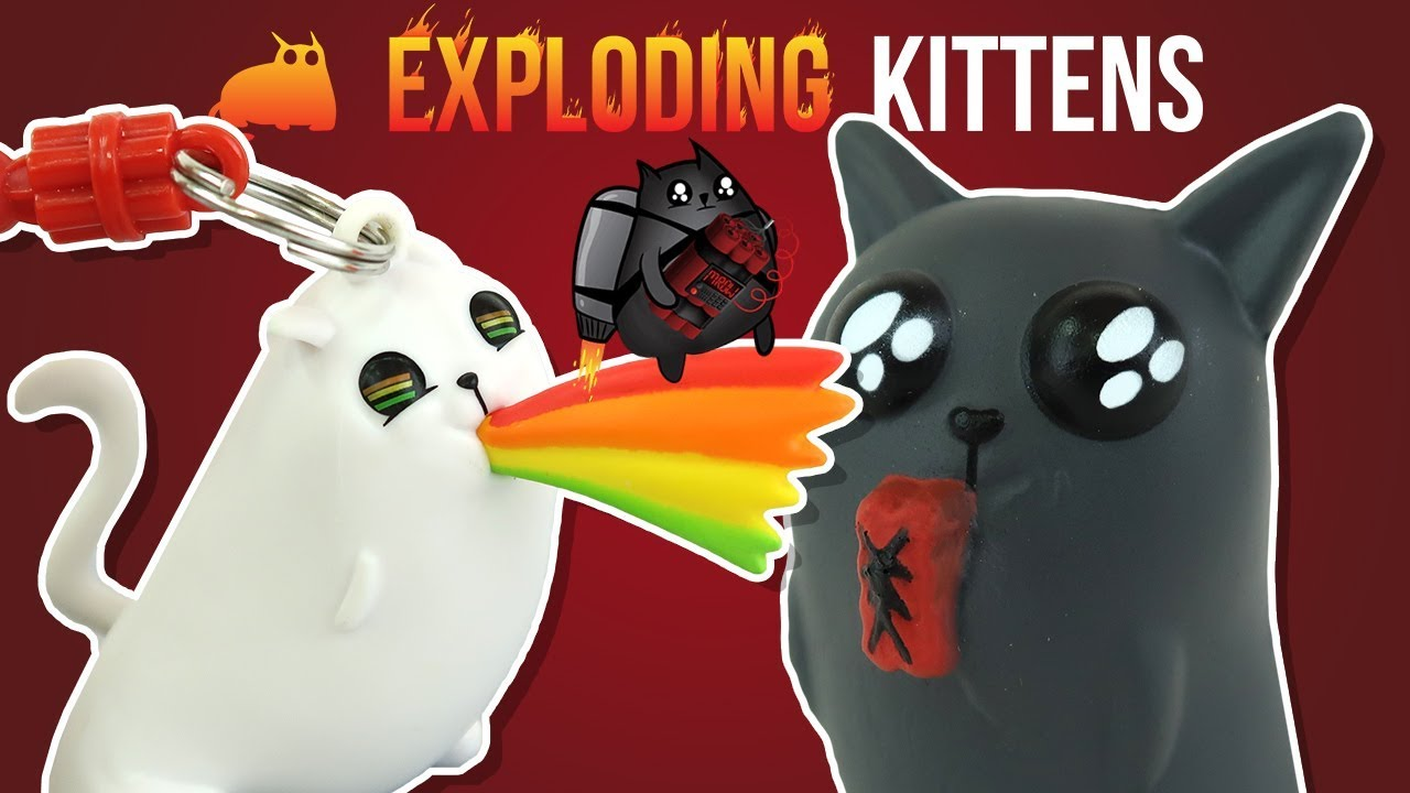 exploding kittens game squishme