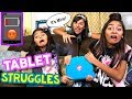 Tablet Struggles - Types of Kids - Funny Skits // GEM Sisters