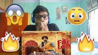 JATT FIRE KARDA-Diljit Dosanjh|Reaction(AGGRESSIVE)