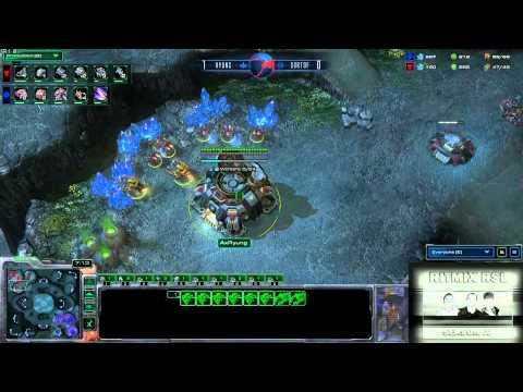 WWSortOf vs AX Ryung: Ritmix RSL 4 Group E - [Starcraft II]