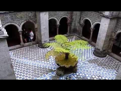 Pena National Palace in Sintra, Portugal (Interior Courtyard)