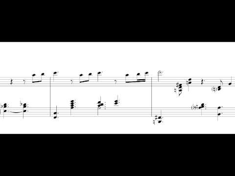 When I fall in Love - Tete Montoliu (Piano Transcription)