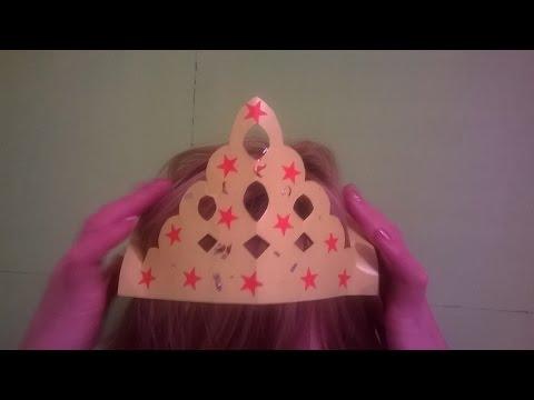 Как сделать из бумаги корону для девочки