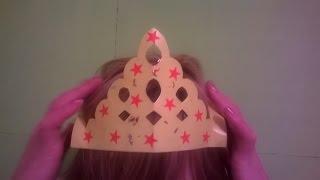 корона для принцессы Поделки из бумаги Оригами Как сделать