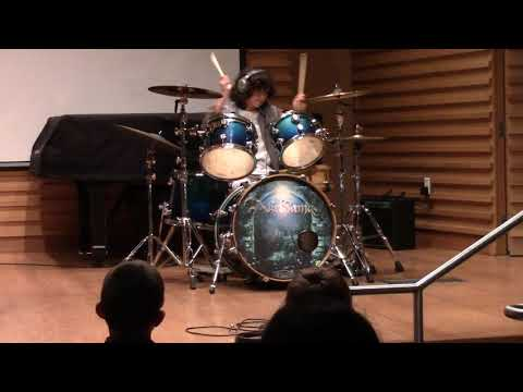 Holy Wars drum cover at USF Theater- The Show Must Go On!