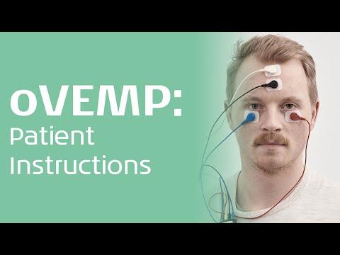 oVEMP - Patient instruction