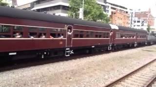 The last steam train to Newcastle?