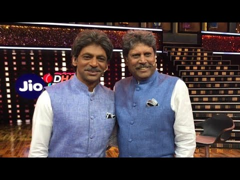 Sunil Grover mimicking kapil dev infront of kapil dev Mp3