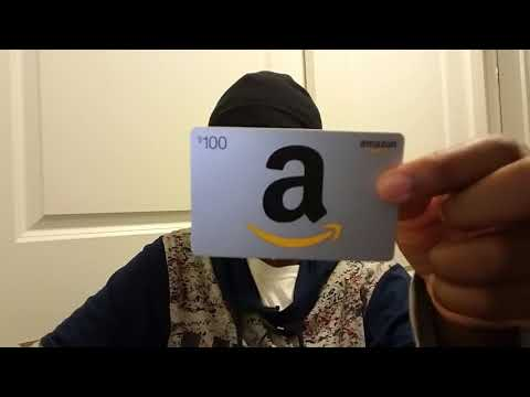 AMAZON GIFT CARD GIVEAWAY!!!!!! $100 GIFT CARD!! HOW TO GET FREE MONEY!!!! I'M REVEALING THE CODE!!!