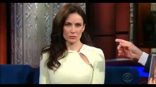 """Laura Benanti as Melania Trump at """"The Late Show With Stephen Colbert"""""""