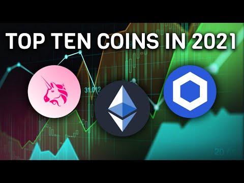 Top Ten Coins To Watch In 2021