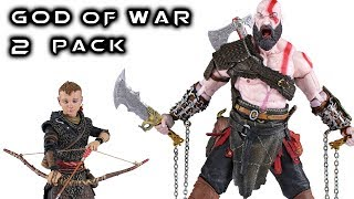 NECA GOD of WAR Ultimate 2 Pack Action Figure Review