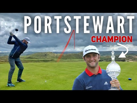 Can Brodie Beat Jon Rahm's Score | Portstewart PART 1