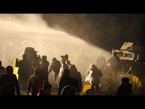 BARBARIC Dakota Access Oil Police Cause Mass Hypothermia