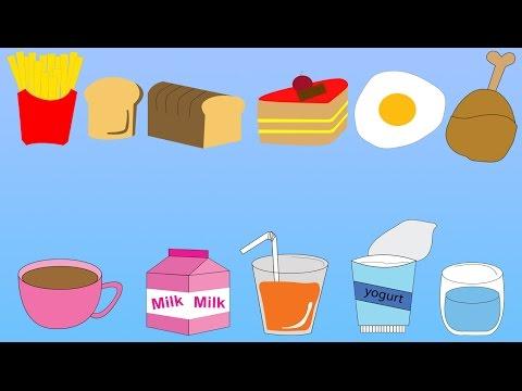 ท่องศัพท์ภาษาอังกฤษ คำศัพท์อาหารและเครื่องดื่ม Food Drink