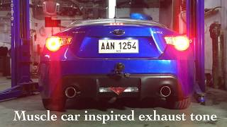 subaru brz intake and exhaust system