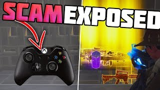 *NEW SCAM* Hacked Controller Scam EXPOSED! - Fortnite Save The World