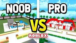 ROBLOX NOOB vs PRO in GYM ISLAND