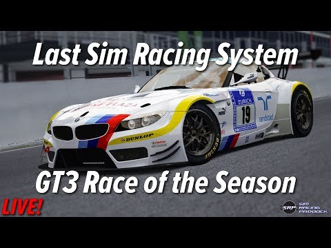 last sim racing system gt3 race of the season youtube. Black Bedroom Furniture Sets. Home Design Ideas